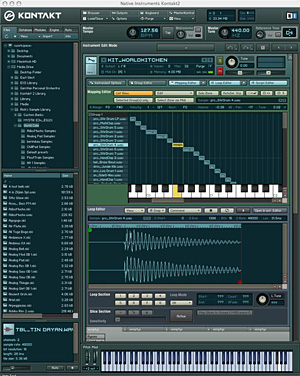 Native Instruments Kontakt3.5 szoftver sampler